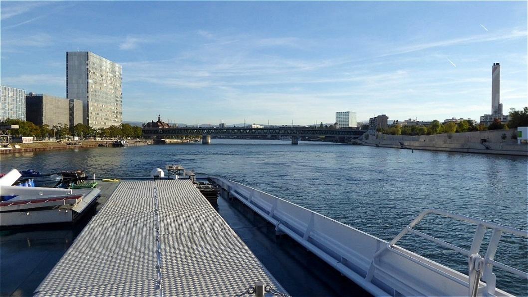 Die Kreuzfahrt auf dem Rhein beginnt !