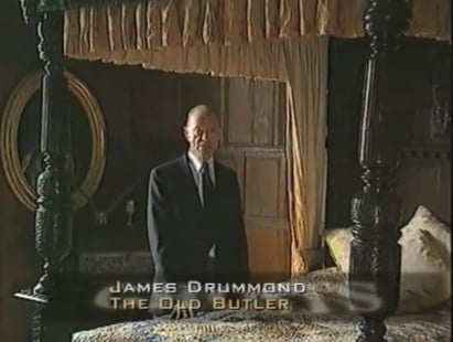 James the Butler in action