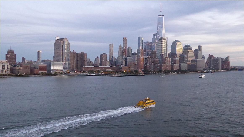 One World Trade Center (WTC 1) taucht auf