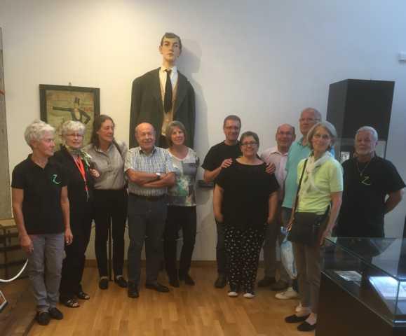2016 Vorstandstreffen in Lengau mit Besuch des Riesenmuseums.