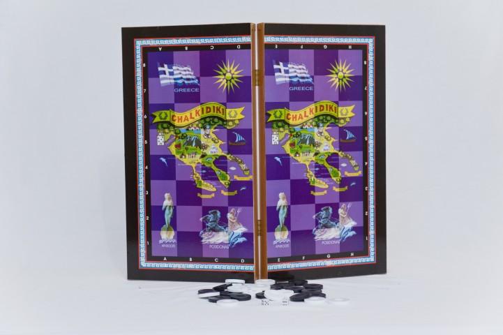 ΚΩΔ. 1048Χ Τάβλι Χαλκιδική 50x50cm