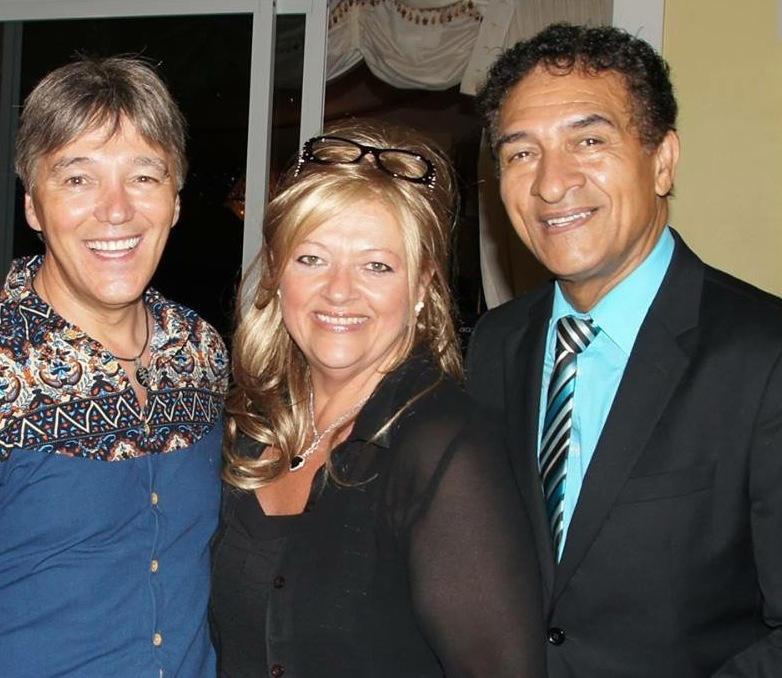 Avec Richard Abel et Pierre Perpall @ Josée Pouliot