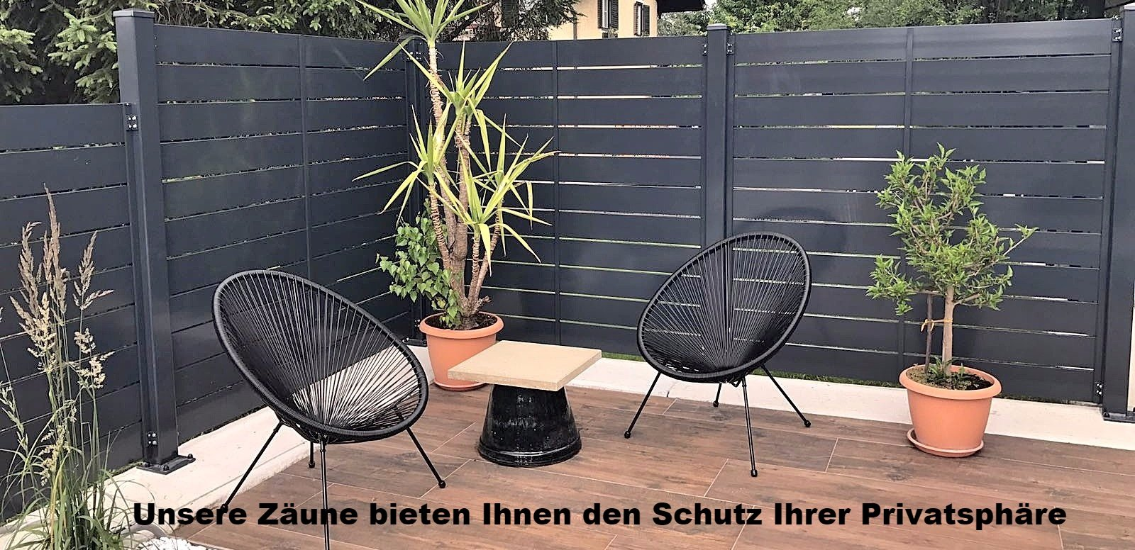life zaun aluzaun balkon tore startseite life zaun z une. Black Bedroom Furniture Sets. Home Design Ideas