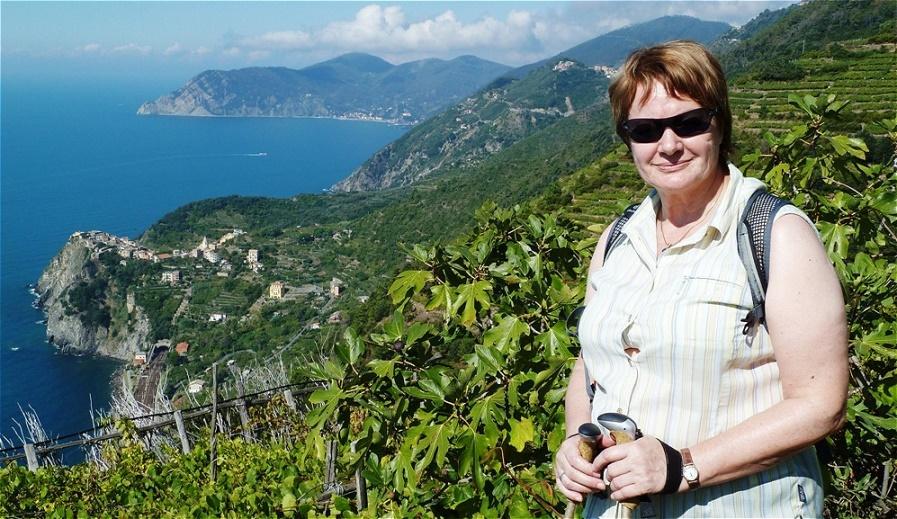 Tiefblick auf Corniglia
