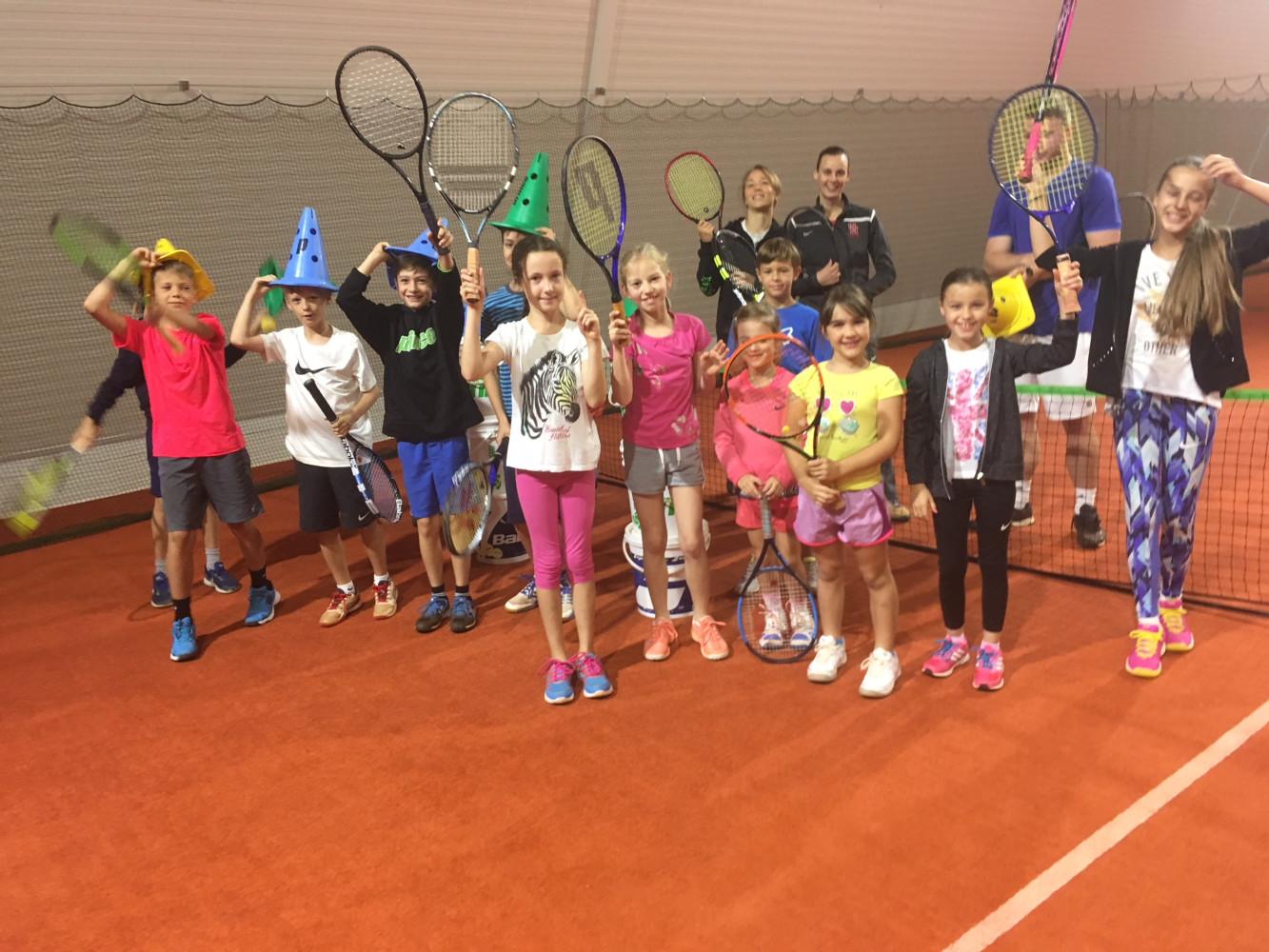 Teniške poletne počitnice v novi dvorani