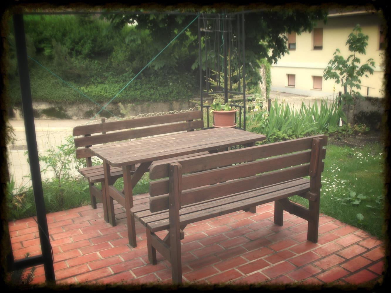 Garten im Stari Kovač Bovec