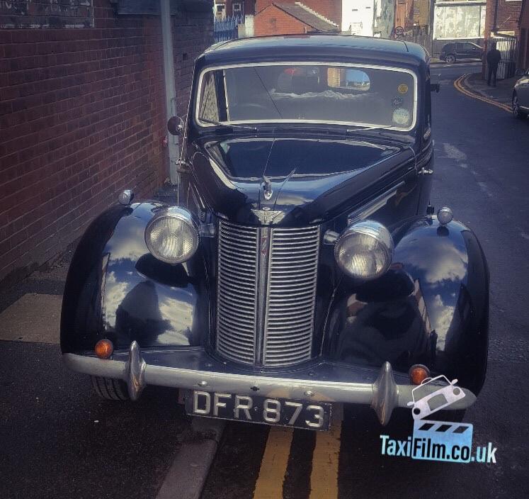 Black Austin 16 1940's, Bolton ref C0009