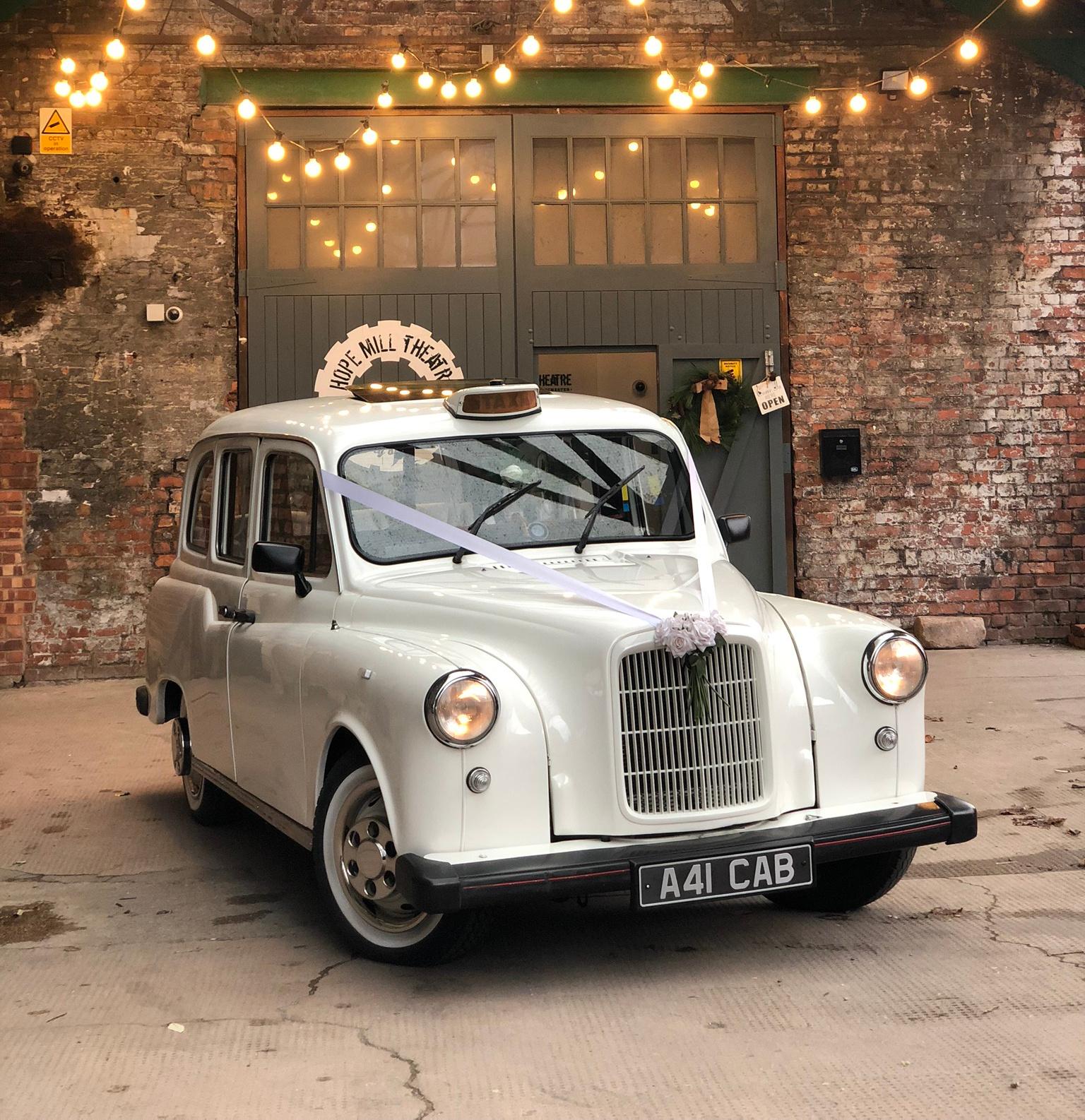 wedding taxi manchester