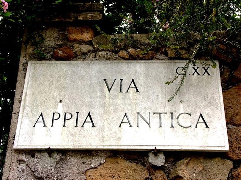 Auf der Via Appia Antica