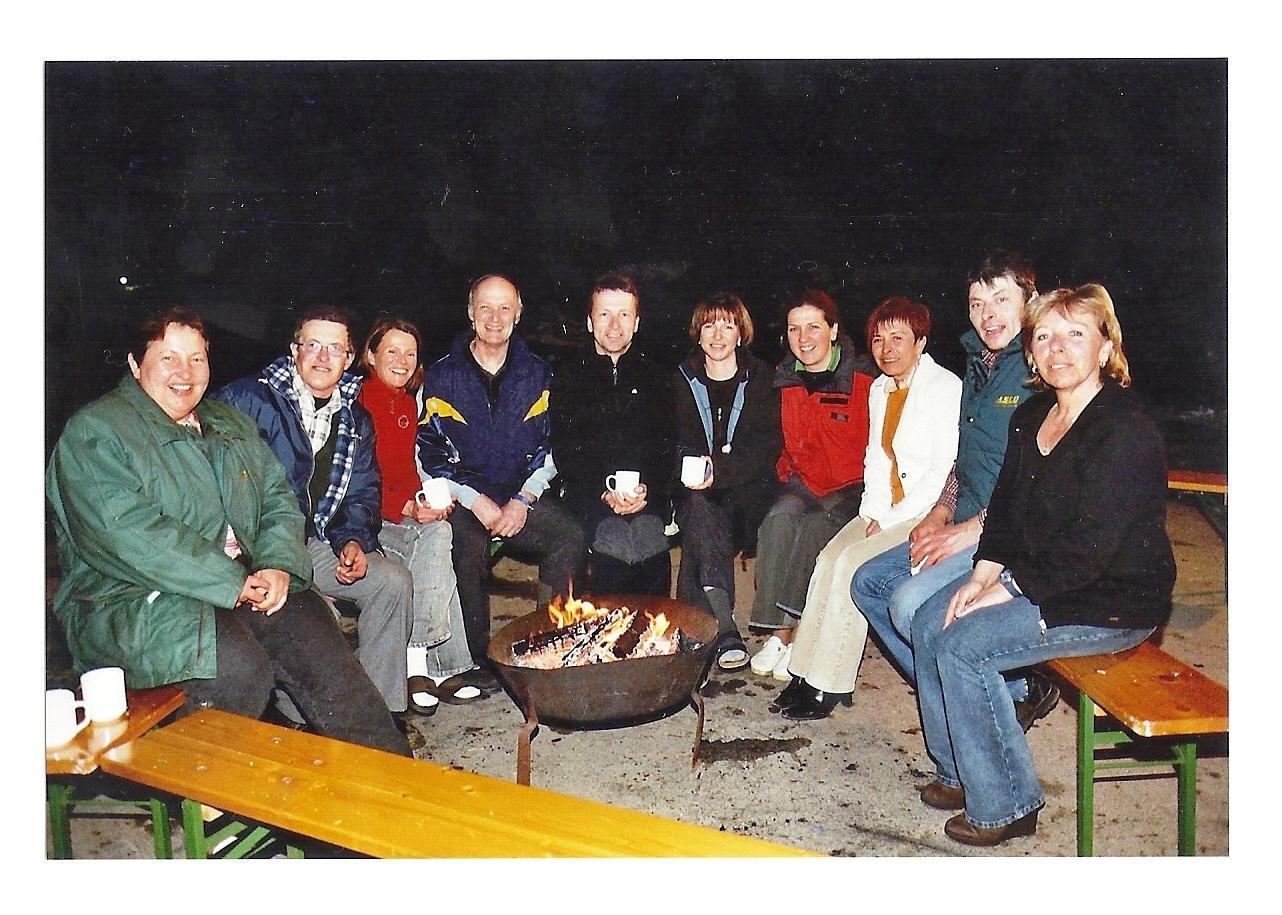 Mauterndorf 2006 - Schikusteam mit unseren Wirtsleuten