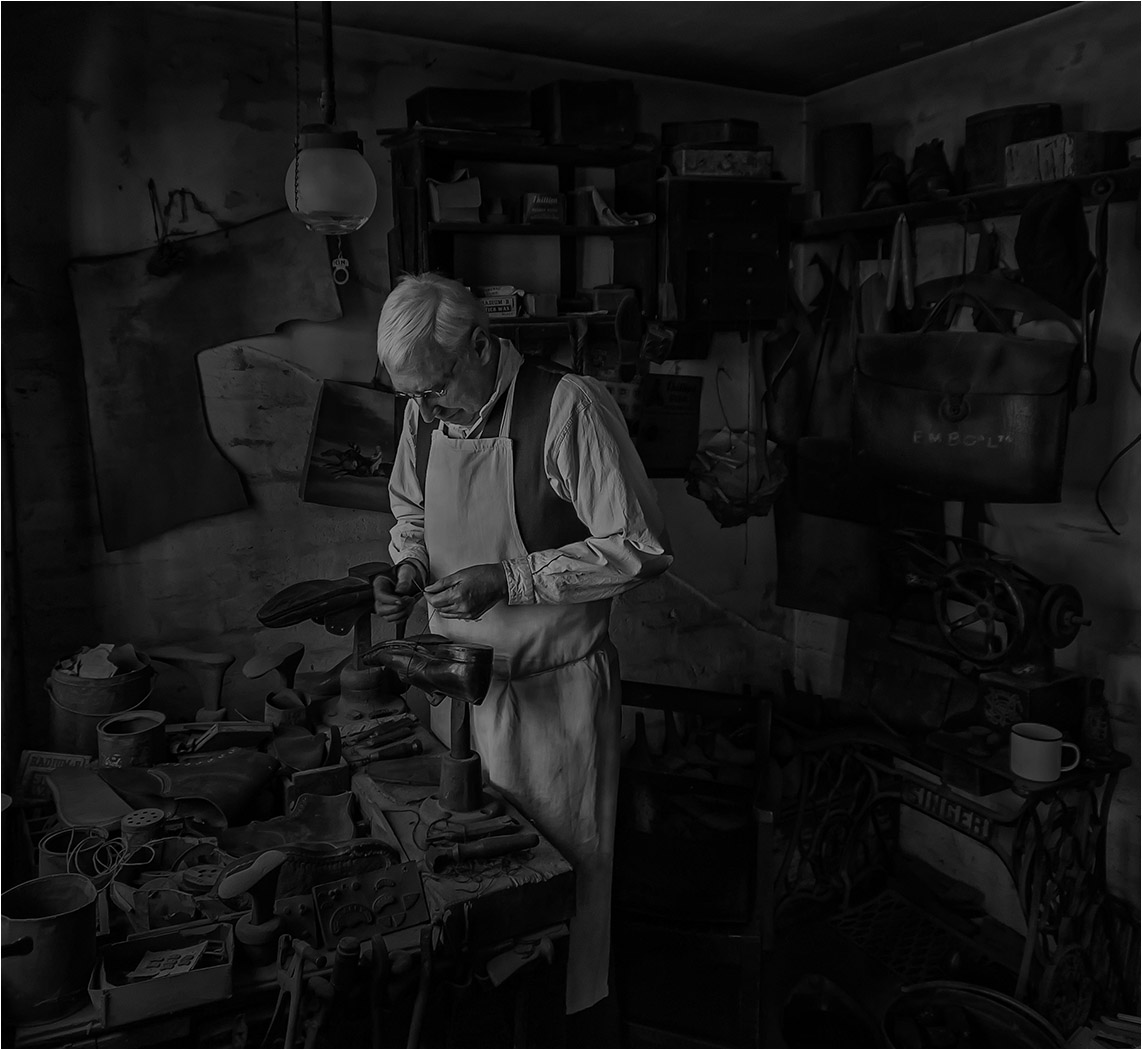 Commended: Albert the Cobbler (Roger Paxton)