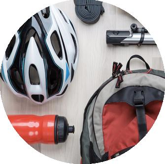 Accessoires vélo et cycliste à Bastia