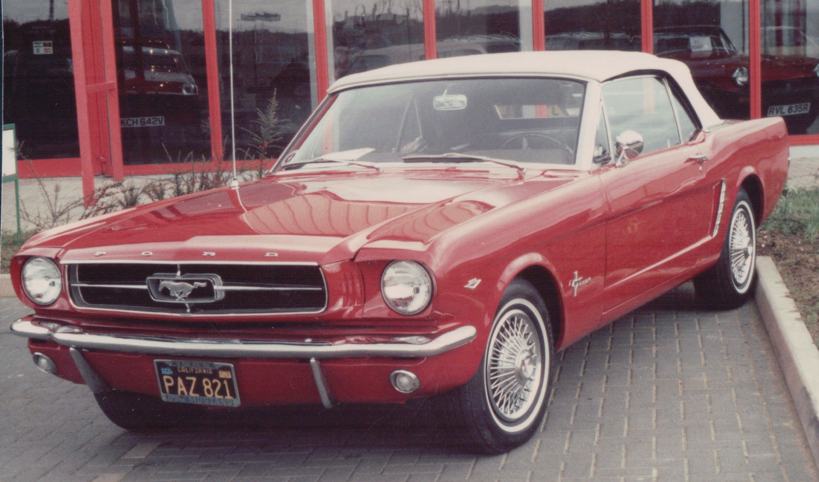 1964 4.7 Mustang, Corby, 1992