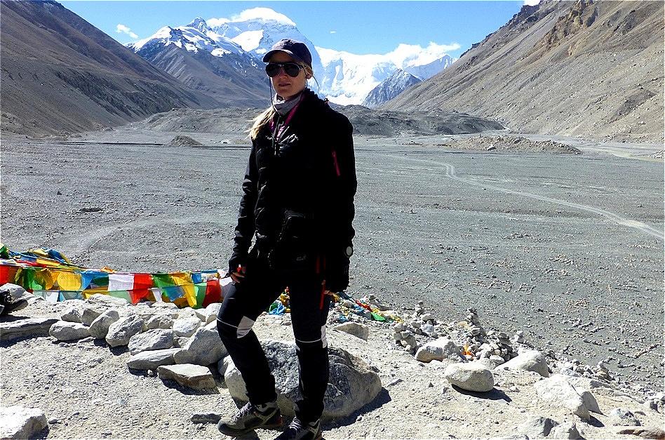 Everest Base Camp - North Base Camp in Tibet - 5.150 m  auf chinesischer Seite Oktober 2013