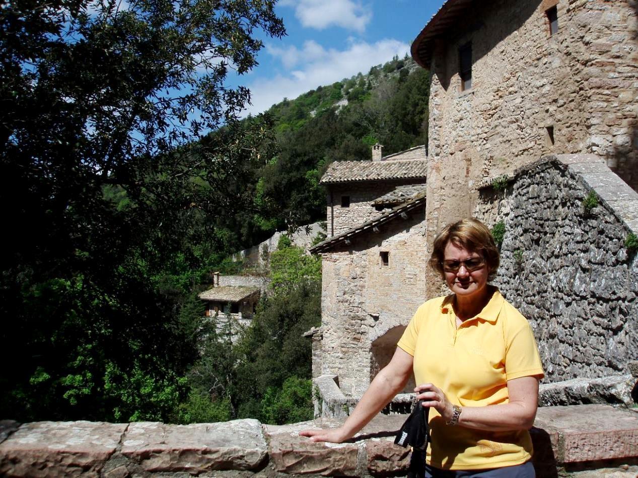 Am Ort der Vogelpredigt des Heiligen Franziskus - Kloster Montecasale