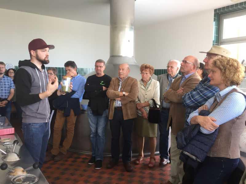 Gestartet wird mit einer Führung in der Brauerei Schnaitl in Gundertshausen.