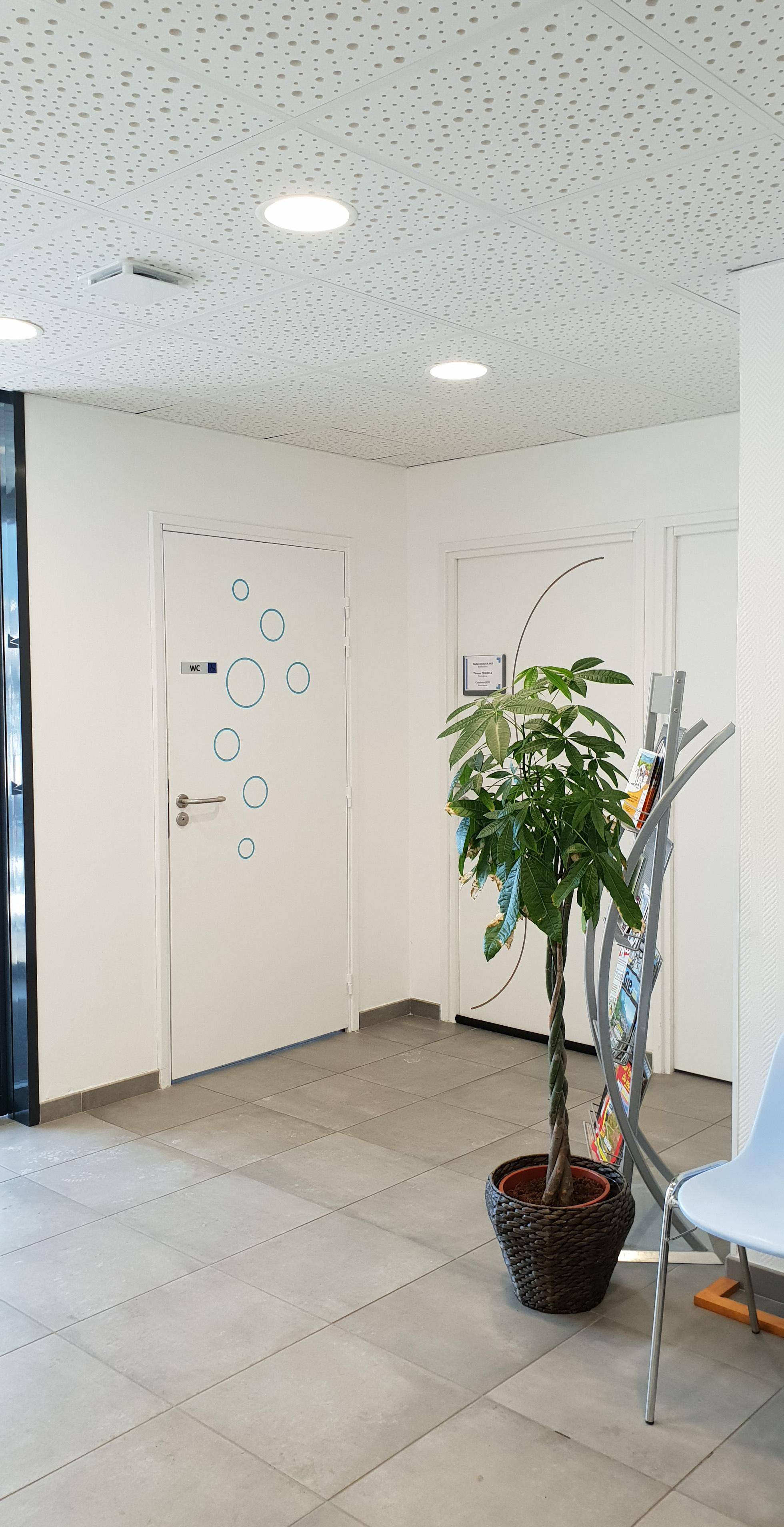 Placo / portes