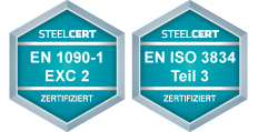 Zertifizierung Securo Zaunbau GmbH