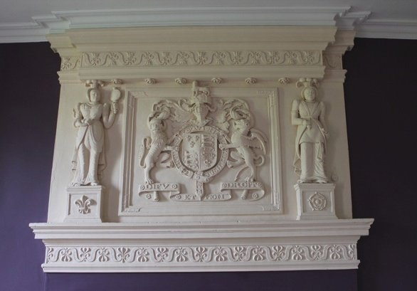 Queen Elizabeth I Overmantel