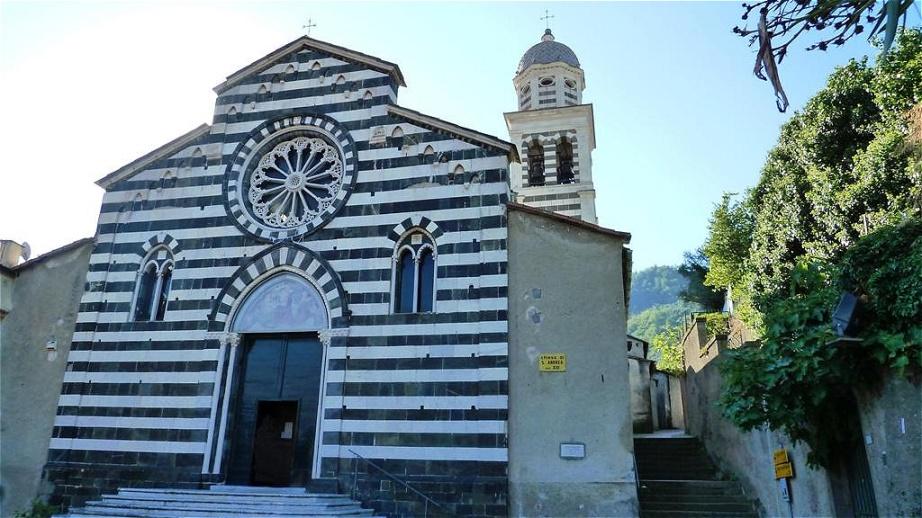 San Andrea in Levanto Hier starten wir unsere Wanderung entlang der Küste nach Monterosso