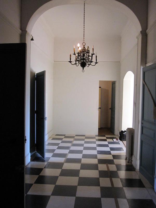Création mezzanine - Avant