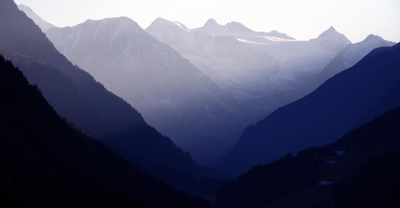 Bergblick von unserem Haus