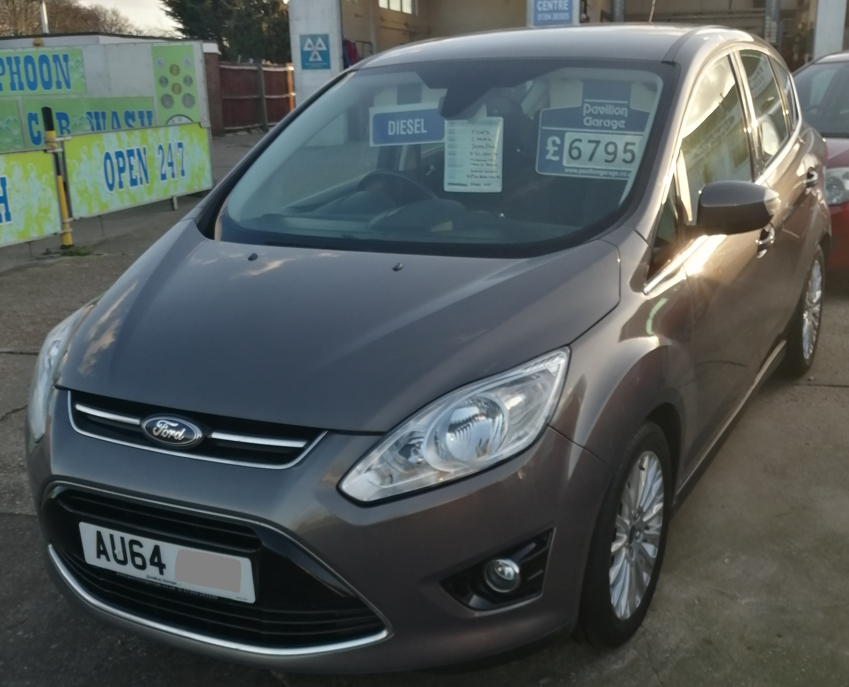 Ford C Max Titanium TDCi 1560cc - Diesel 2014 / 64 *** 51,000 miles *** Service History Spare Key *** ONLY £30 per year Road Tax *** £6795