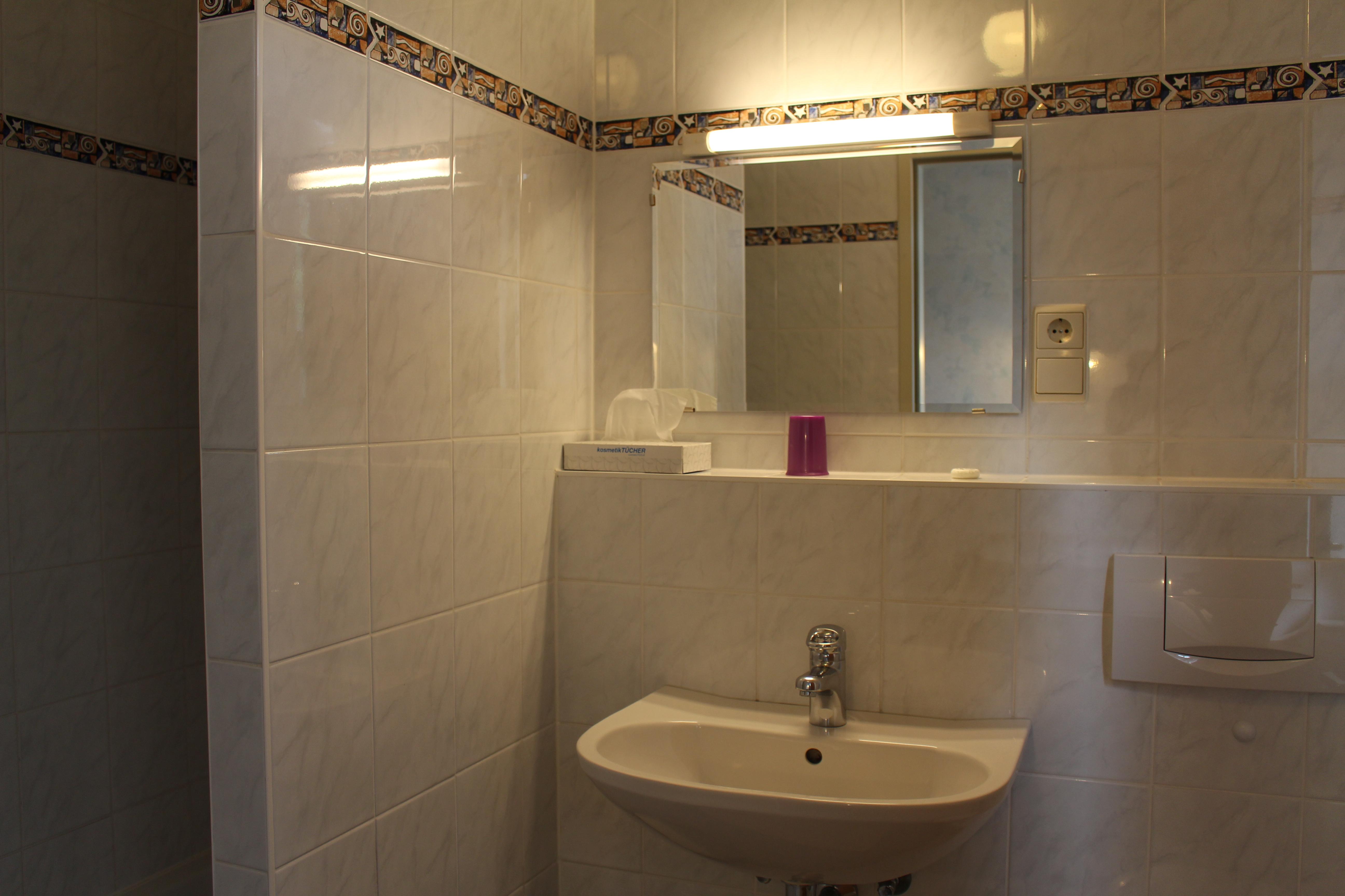 Zimmer Nr. 6 -Badezimmer