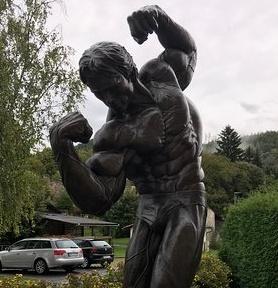 Thall by Graz A.Schwarzenegger museum