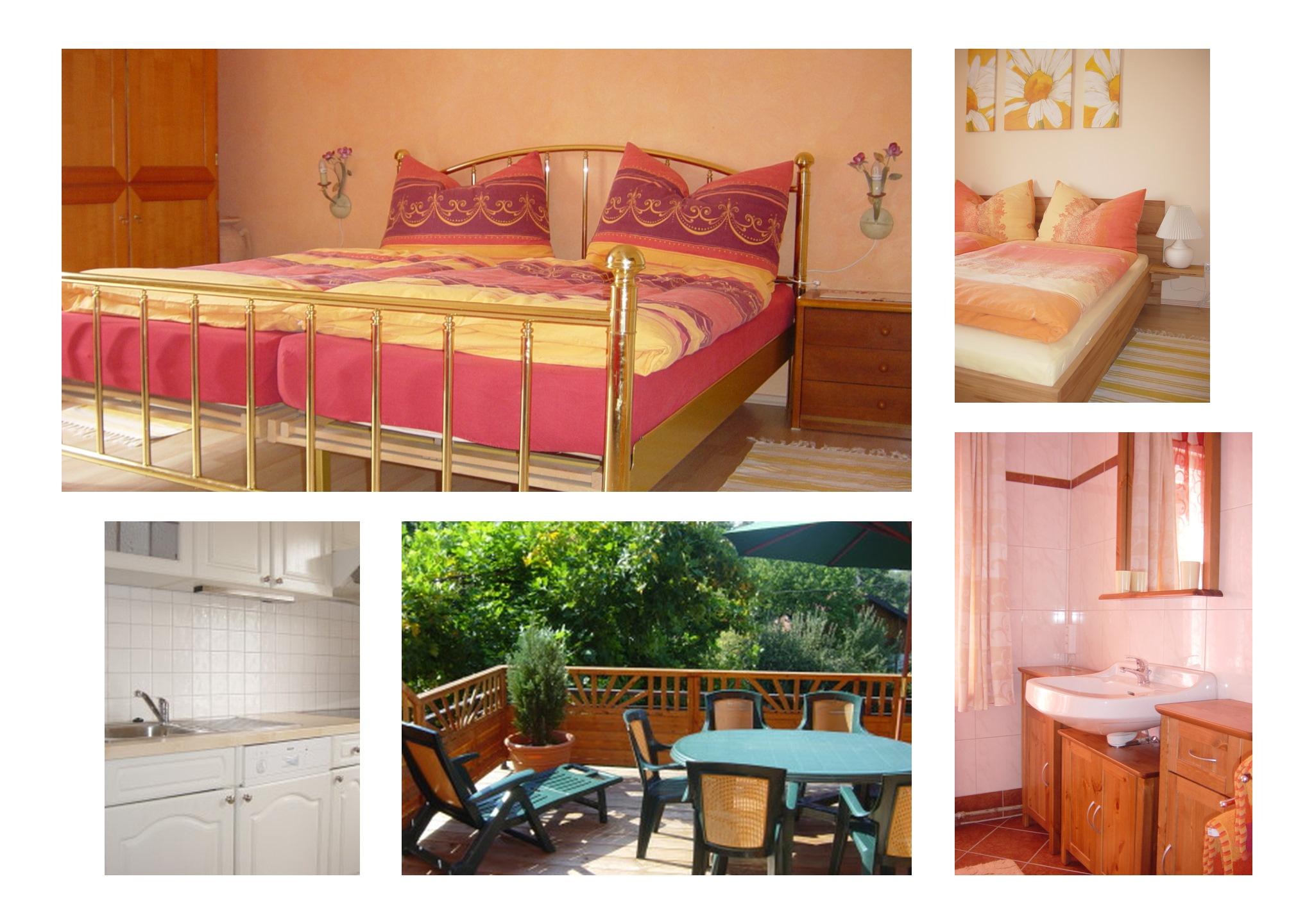 Apartments für 4 + (2) Gäste