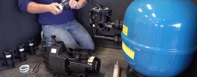Installation et Raccordement d'une Pompe de Filtration (Clean Piscine)