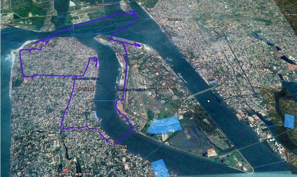 2015_04_09 Kochi Stadtbesichtigung und Hafenrundfahrt