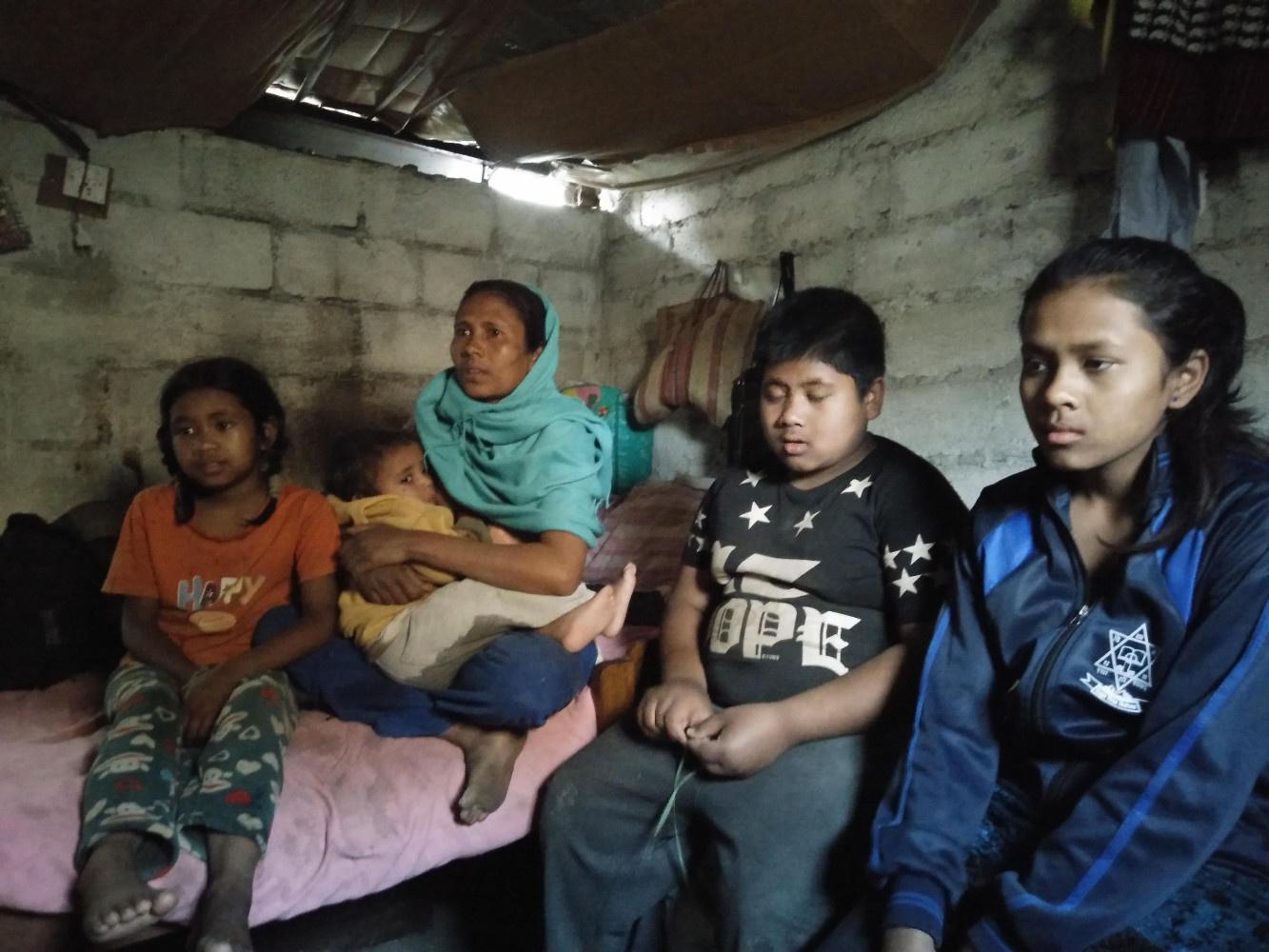 famille que nous avons aidé