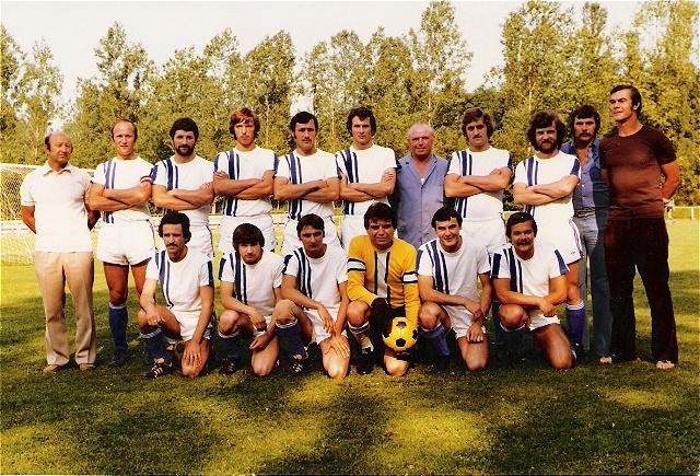 1977 Kapitän beim ATSV-WSV Ranshofen - 1. LL (OÖ Liga)