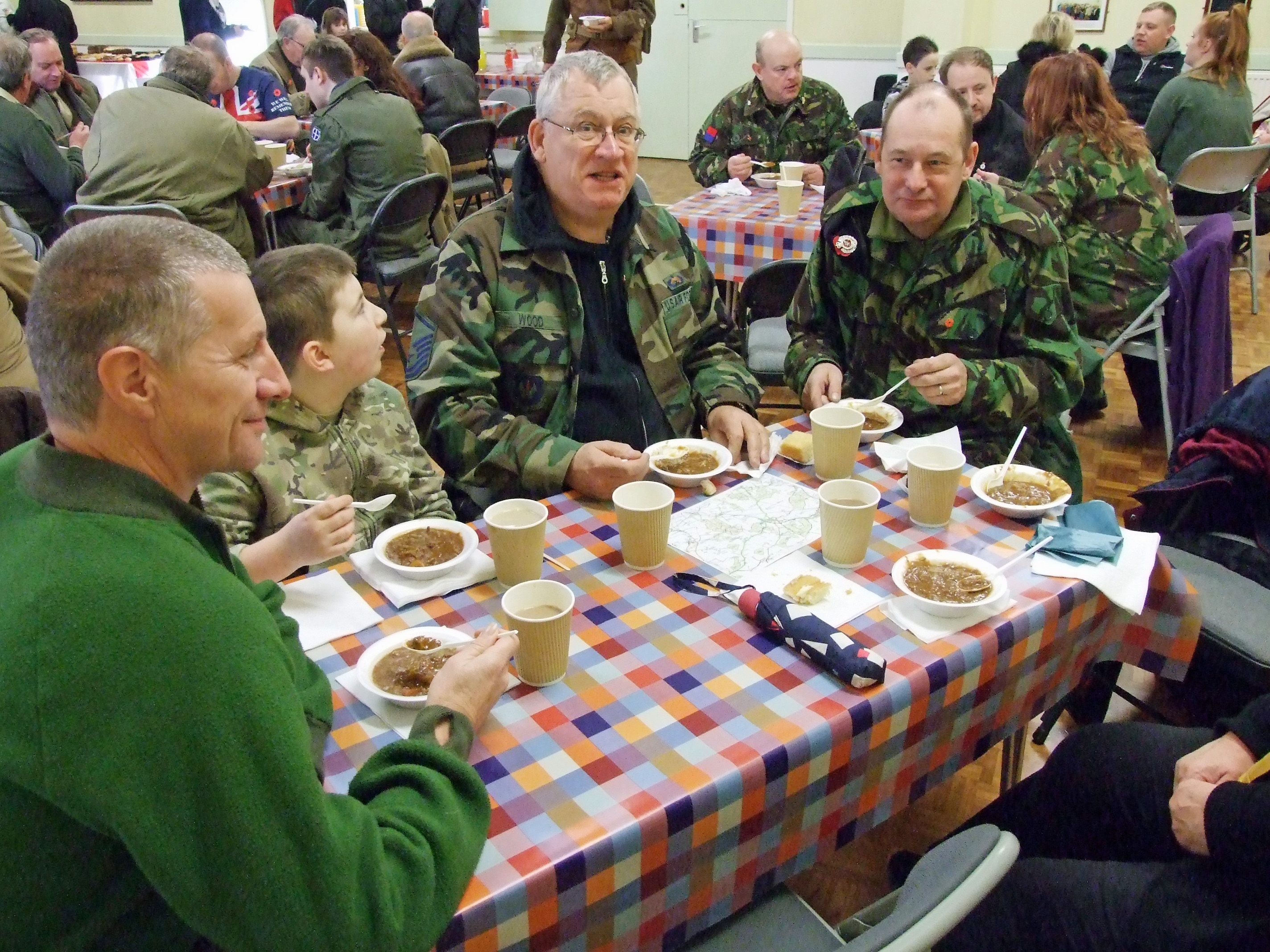 Lunch at Weldon Village Hall