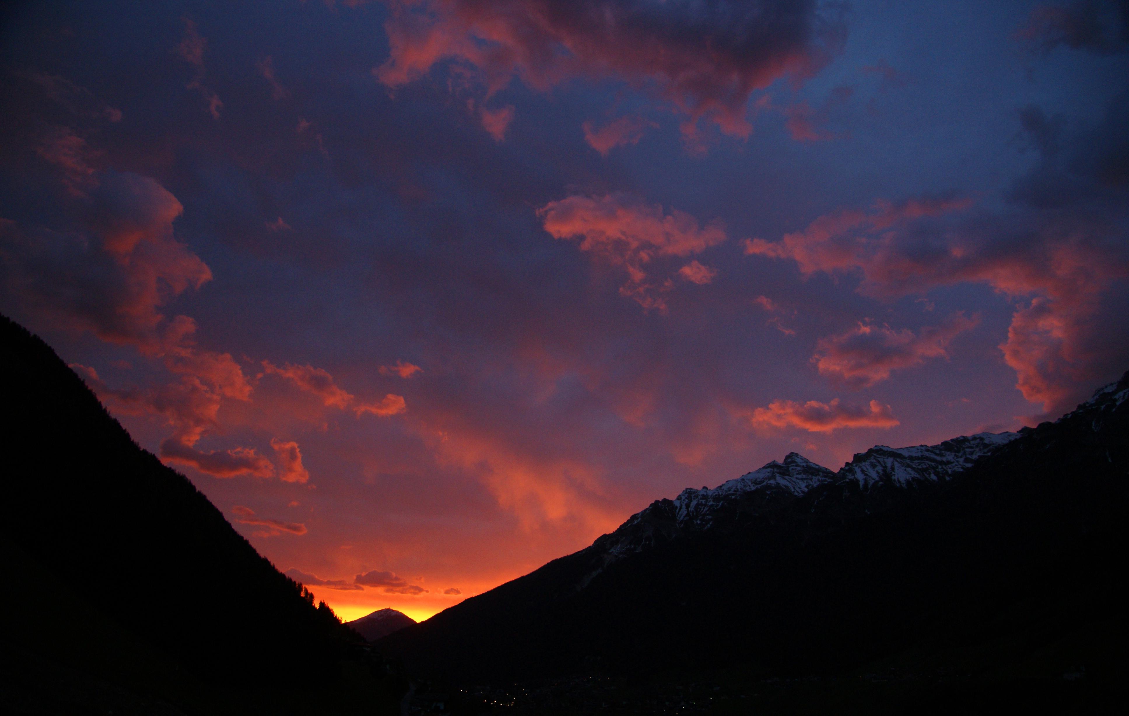 Morgenrot überm Patscherkofel