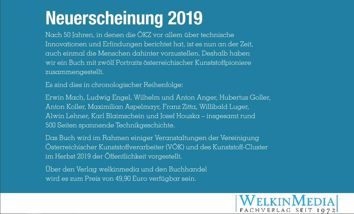 2019 Österr. Kunststoffpioniere