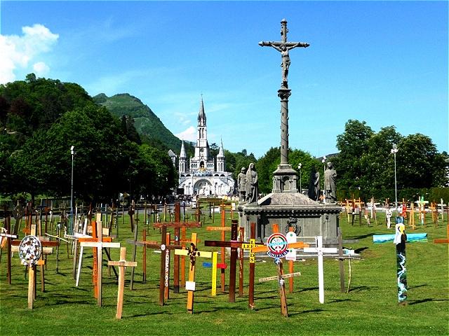 Der Park der Kreuze