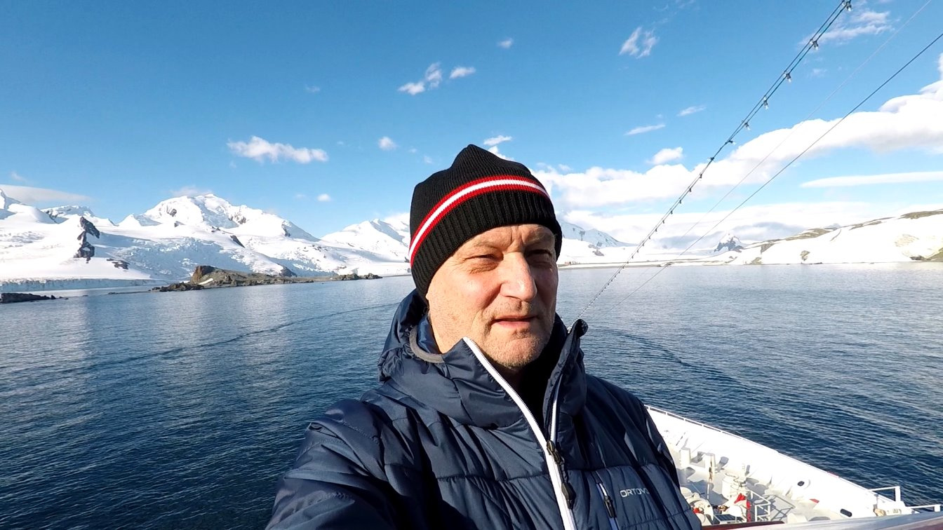 An Bord herrschen angenehme Temperaturen