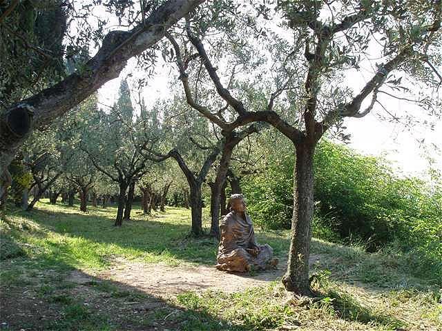 Francesco in Medidation versunken