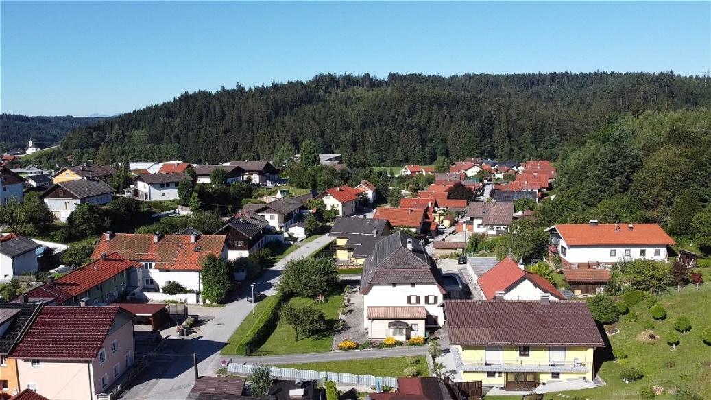 """Ortsteil """"Alte Hütte"""" von Norden"""