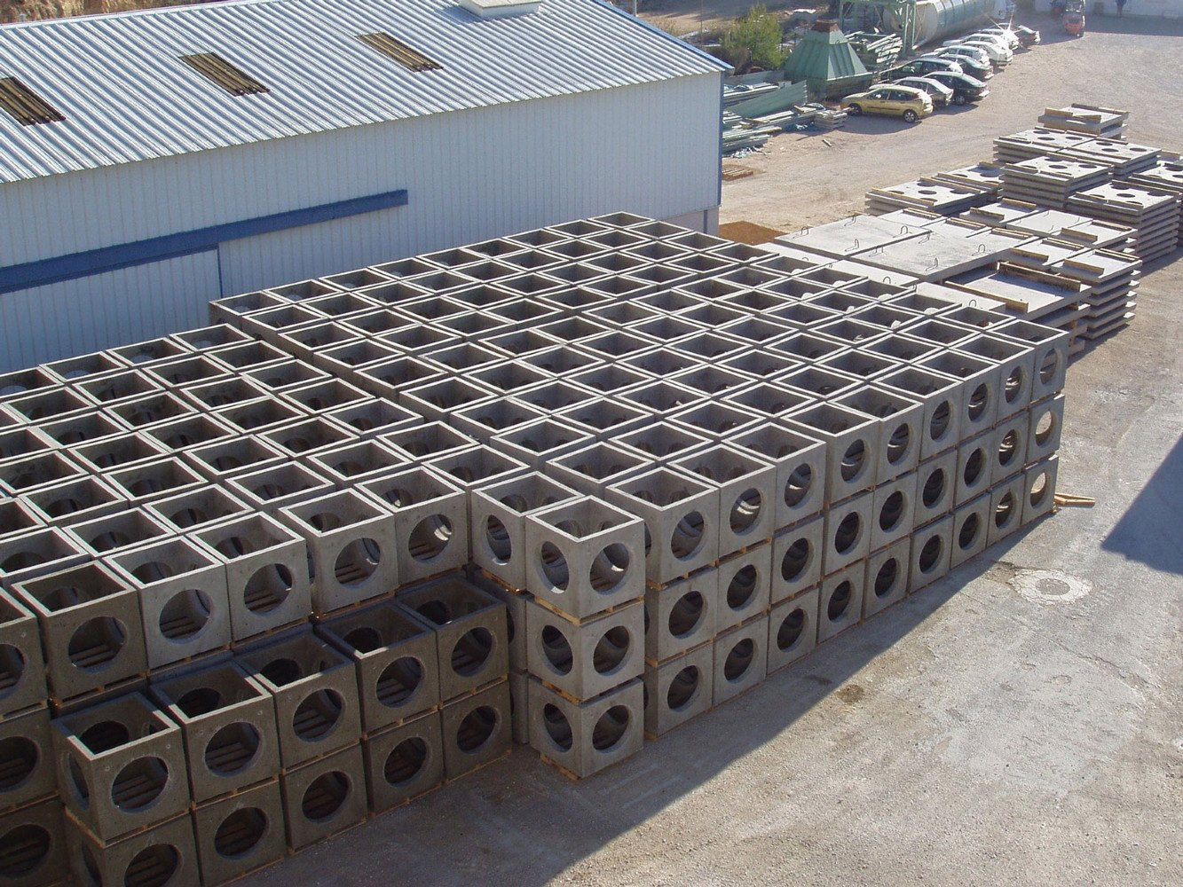 Stock de modules cubiques - Les Récifs du Prado