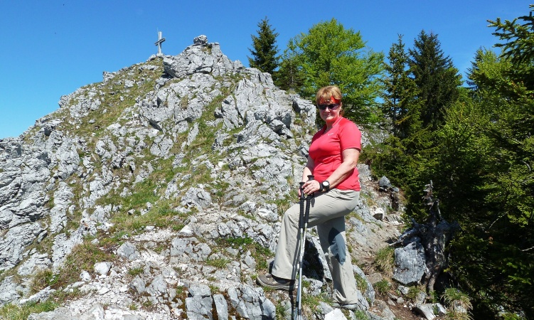 Frauenkopf - Gipfelaufbau