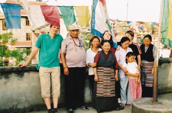 2004 : la famille ..presque au complet