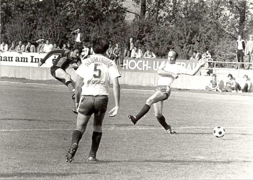 6. Sept.1980  -  SV Braunau gegen WSV Ranshofen ein immer junges Derby