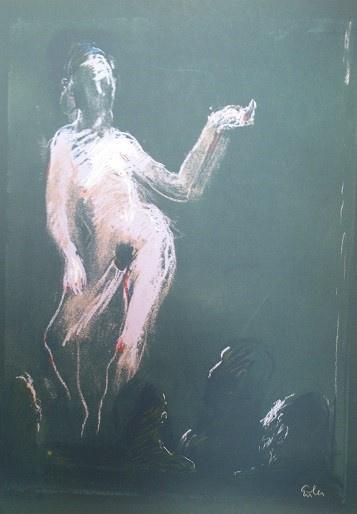 GEORG EISLER PHOENIX CLUB Seriegraphie in 8 Farben 1972 durch den Künstler in den Officen realisiert. Auflage 5000 Stück HANDSIGNIERT 70 €