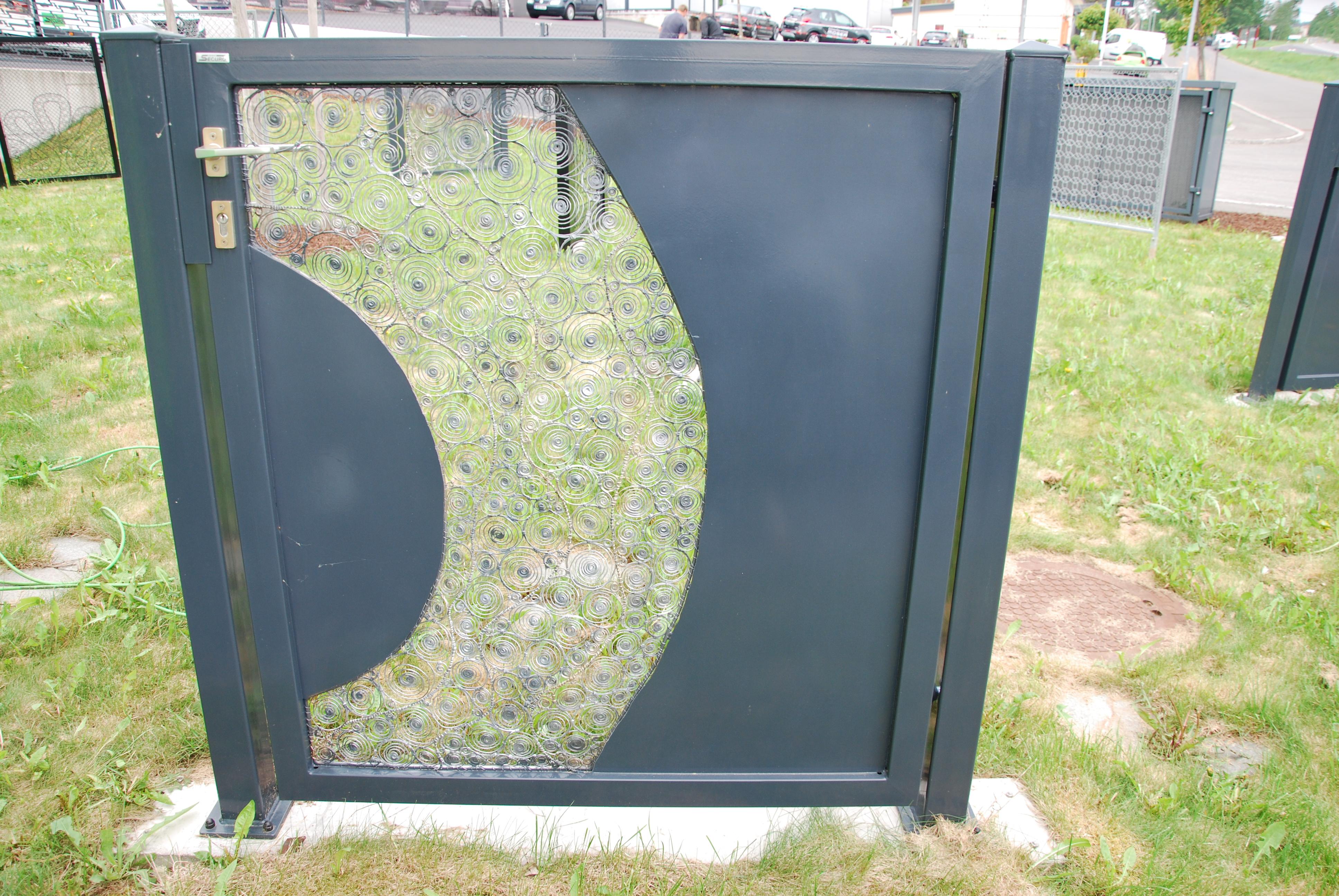 Securo Drahtbindekunst Gartentür