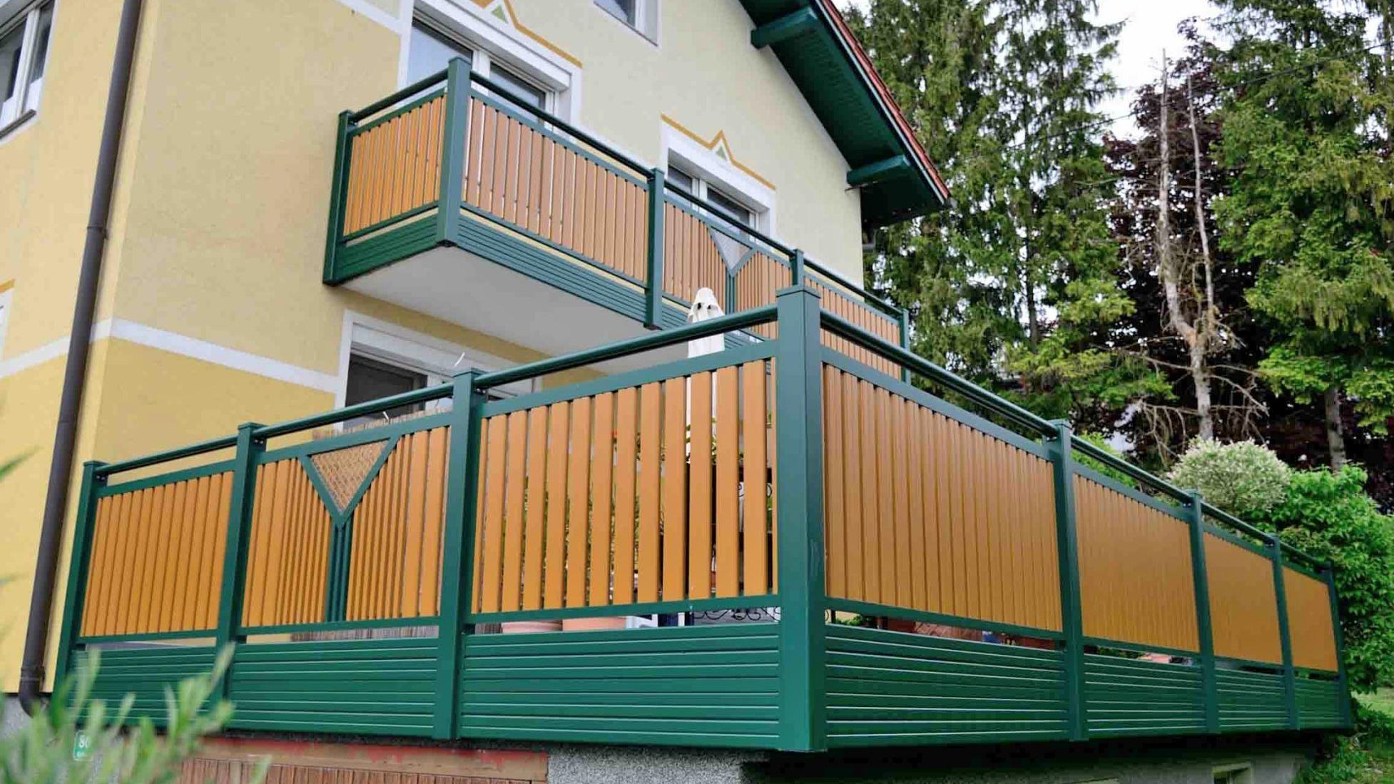 life zaun aluzaun balkon tore - balkone