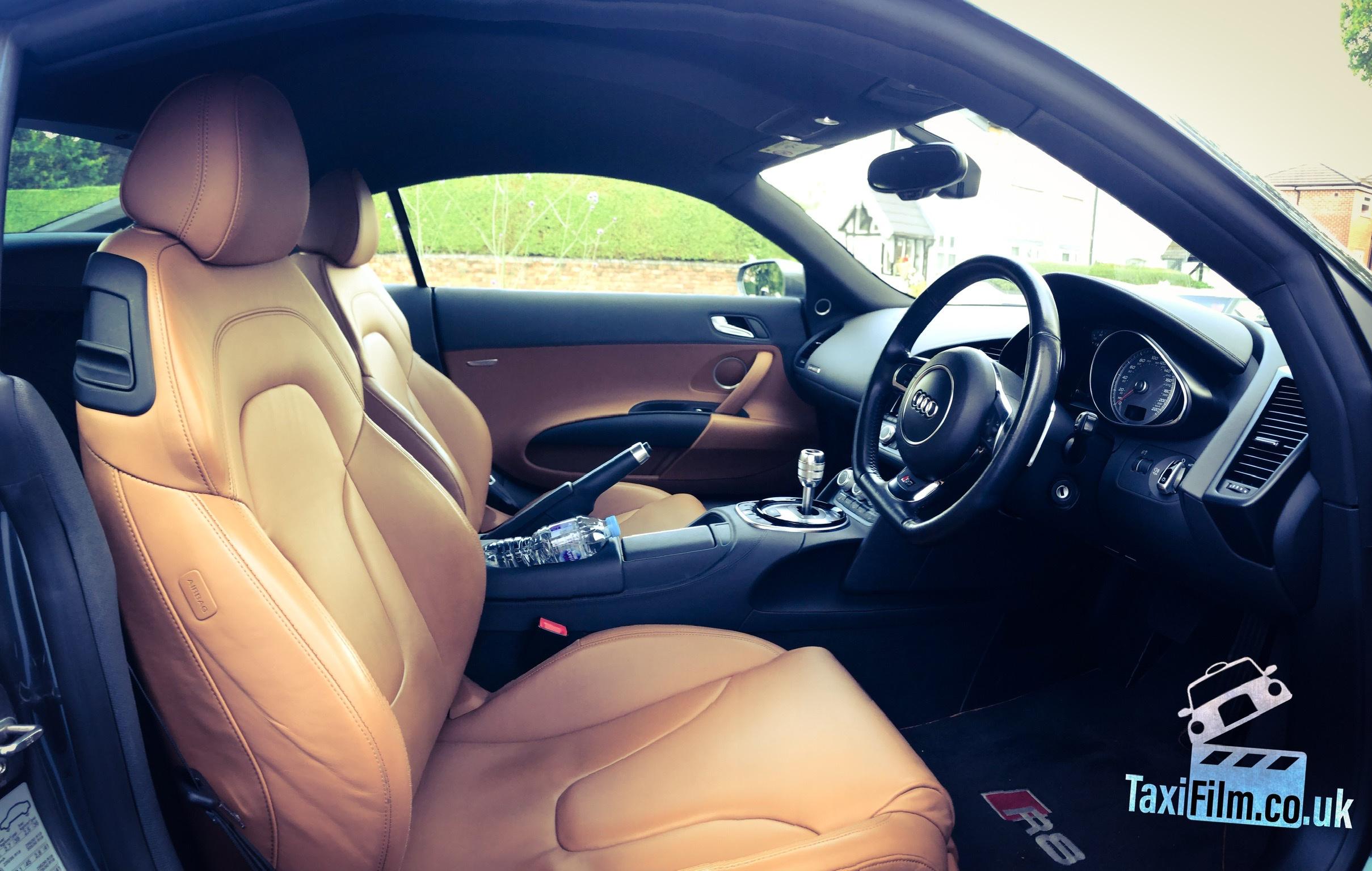 Daytona Grey Audi R8 (V8) 2015, Manchester ref R0002