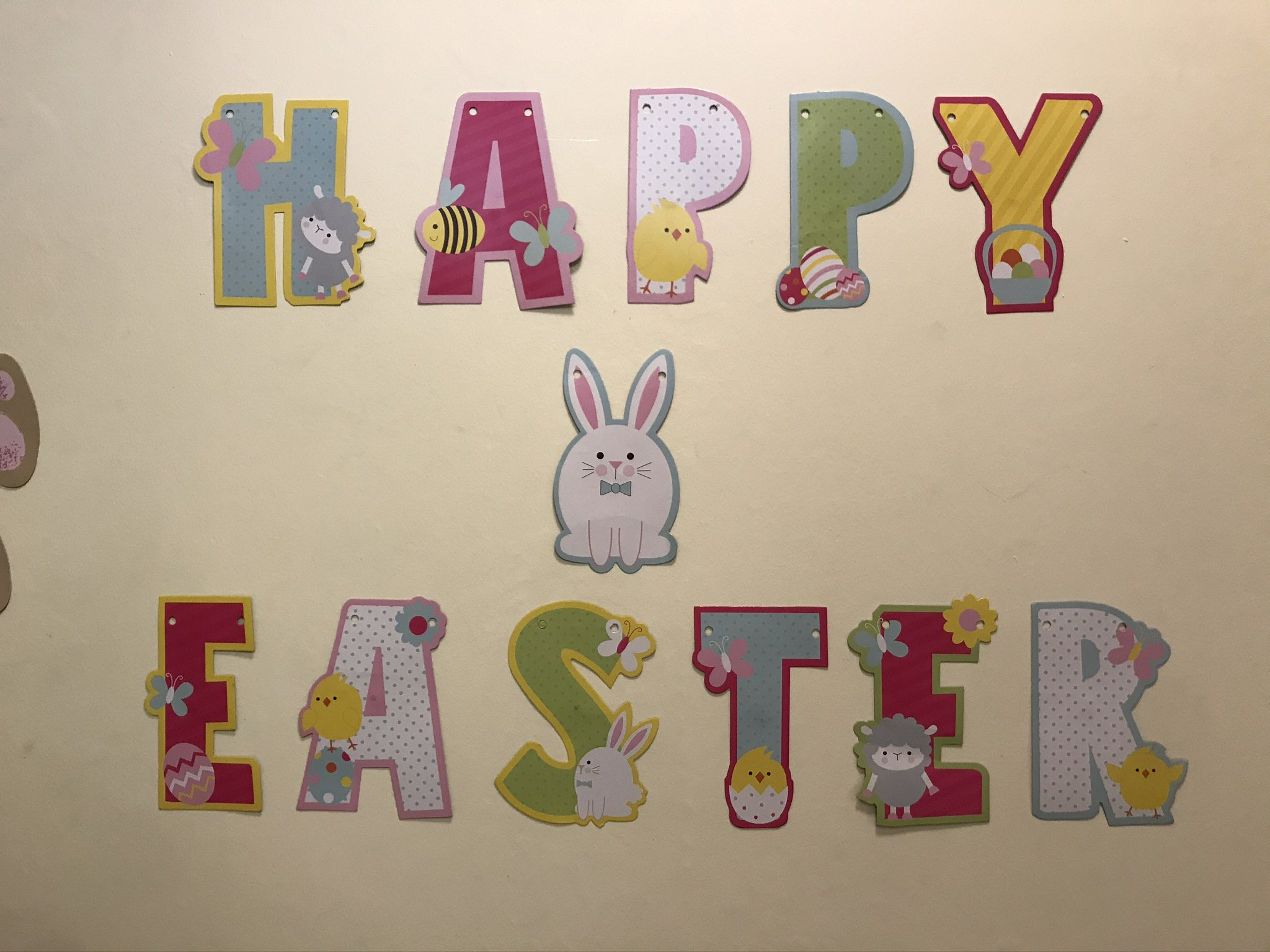 Happy Easter to you all - 2020
